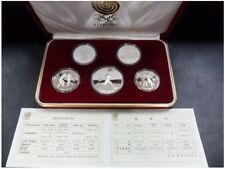 1988 Korea Seoul Olympic Games Commemorative 5 coins Proof Set / 1st Issue(1987