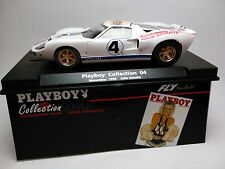 Slot Car Fly Ford GT40 Playboy Collection Novemb 1998 Compatible 1/32 Scalextric