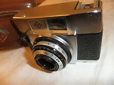 Range finder camera AGFA SILETTE RAPID I with 1:2,8/45 lens + leather case  51