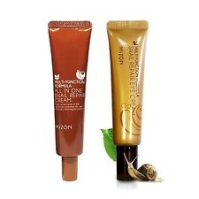 [MIZON] [1+1] All In One Snail Cream Tube 35ml + Snail Repair Eye Cream Tube 15m