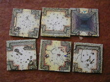 ROOM TILES LOT 4 DUNGEONQUEST / GAMES WORSHOP