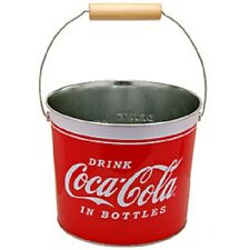 COCA COLA COKE METAL BUCKET    NEW!!