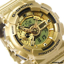 CASIO G-SHOCK Limited Edition Bright Gold Colors Watch GA-110GD-9A GA110GD-9A