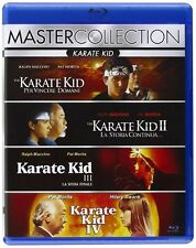THE KARATE KID COLLECTION Blu-Ray Boxset ALL 4 ORIGINAL MOVIES BRAND NEW Import