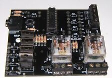 RKP18Relay 2 Channel Relay Module PCB designed for PICAXE-18M2 & Genie-E-18
