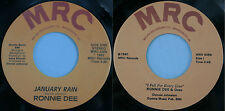 "Lot of 2 Ronnie Dee (Dawson) with Oreo 7"" 45 RPM on MRC Rare Rockabilly! VG++"