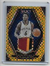 2015-16 Select Mario Chalmers 3-Color Game Patch Gold Prizm/10