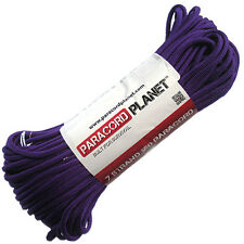 Acid Purple 100' 550 Paracord Mil Spec Type III 7 Strand Parachute Cord