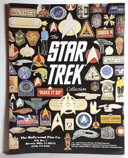 1992 Star Trek  Hollywood Pin Cloisonne Pin 8 Page Color Catalog-NEW- FREE S&H