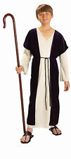 Child Shepherd Costume Biblical Times Nativity Christmas Play Size Large 12-14
