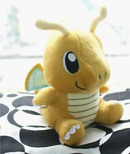 "Nintendo B & W Pokemon Figure Dragonite Stuffed Toy 6.5"" dual-type Kairyu Dragon"