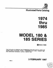 1974 -1985 Cessna Model 180 & 185 Series Illustrated Parts Catalog Revision 1997