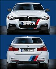 BMW F30 F31 M SPORT F/Rear PDC M performance stickers Decals Vinyl Graphics