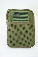 Condor Pocket Pouch with Removable US Flag Patch Olive MOLLE PALS MA16-001
