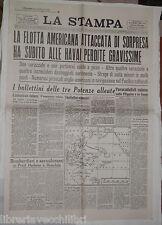 9 dicembre 1941 Ristampa Attacco Pearl Harbour El Alamein Battaglia Stalingrado