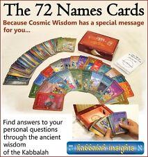 The 72 Names Kabbalah oracle cards