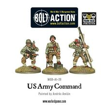 Warlord Games Bolt Action World War 2 Us Army Command Hq American Headquarters