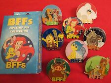 Disney Parks BFFs Mystery Pin 8 Pin Complete Collection Ariel Joy Baymax Bambi++
