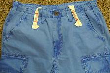 TRUE RELIGION CARGO BOARD Shorts 32 NWOT$259 Shaded Blue! Signature Logo's!
