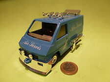 PLASTIC  1:32? - RENAULT TRAFFIC   CAMPER      RARE SELTEN -  IN MINT CONDITION