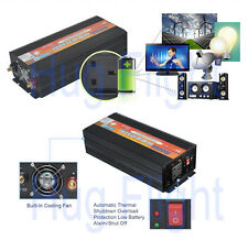 2000W(4000W peak) DC 12V to AC 240v Power Inverter Converter Electronic UK