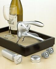 Rabbit Corkscrew & Wine Preserver 6-Piece Set