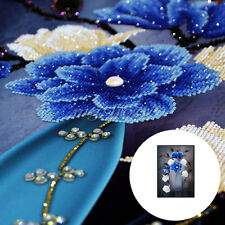 Special-shaped Flower DIY 5D Embroidery Diamond Sticker Cross Painting Decor NEW