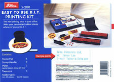 DIY RUBBER STAMP KIT, SERVICE GARAGE MECHANIC NOT SELF-INKING ETC