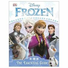 FROZEN ESSENTIAL GUIDE GUIDA FILM CINEMA HARDCOVER BOOK ELSA ANNA DISNEY OLAF 1