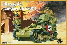 MARDER ON UE 630 (f) CHASSIS - WW II TANK DESTROYER 1/35 RPM panzer