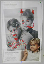 Original Vintage Irreconcilable Differences Movie Poster -  Shelley Long - 1984