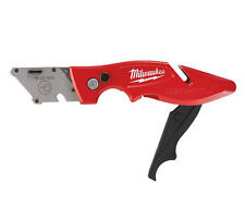 Milwaukee Fastback 2 folding/flip recorte trabajo knife/slitter, n ° Blades,48221902