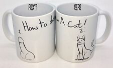 How To Draw A Cat Funny Rude Penis Coffee Tea Comical Art Mug Cup