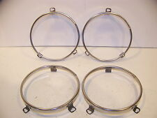 1970 CHRYSLER HEADLIGHT RETAINING RINGS 300 NEW YORKER NEWPORT TOWN & COUNTRY