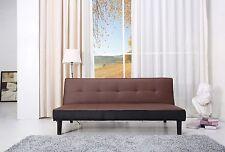 Schlafsofa Braun/Schwarz Stoff Sofa Couch Couchgarnitur Schlaffunktion Bettcouch