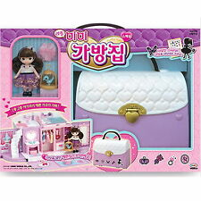 Little MIMI Bag House Barbie Doll Role Play Korean Character Fairy toy Girl gift