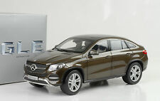 2015 Mercedes-Benz GLE Class C292 Coupe citrine brown metallic 1:18 Norev Dealer