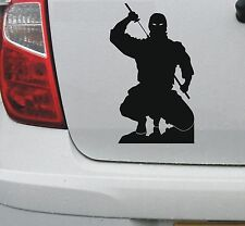 Vinyl Ninja decal sticker #1 (sml) - Ninjitsu Martial Arts - DEC1051