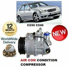 FOR MERCEDES C230 C240 W203 5/2000-2007 NEW AC AIR CON CONDITIONING COMPRESSOR