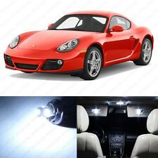11 x Error Free White LED Interior Light Package For 2006 - 2012 Porsche Cayman