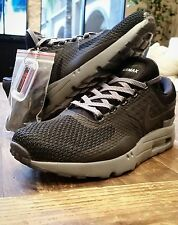 Nike Air Max Zero QS Men's Shoes Black/Black/Dark Grey 789695-001 Size 9