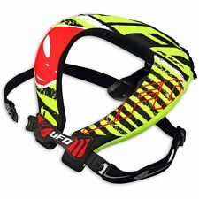 UFO 2017 Adult Bulldog Neck Brace Support Motocross Quad with strap supports
