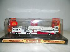 CODE 3 DIE CAST LTD ED AERIAL LADDER TRUCK CITY OF WASHINGTON DC NIB 1:64