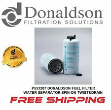 P553207 DONALDSON FUEL FILTER, WATER SEPARATOR SPIN-ON TWIST&DRAIN