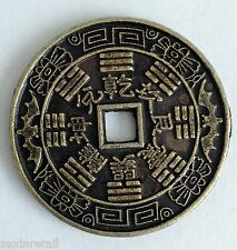 LUCKY CHINESE COIN - For Wealth Protection & Good Luck - Rapid Same Day Despatch