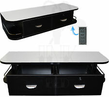 Black Locking Wall Mount Station Stainless Steel Top Studio Tattoo Equipment
