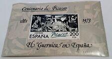 SELLOS ESPAÑA 1981 - EL GUERNICA EN ESPAÑA. CENTENARIO DE RUÍZ PICASSO