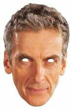 Peter Capaldi The 12th Doctor Who Single Card Face Mask. Great for Dr Who Fans!