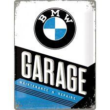 BMW GARAGE Panneau en tôle 30x40 cm - Signe Signes Atelier/GARAGE 23211