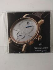 Chronoswiss press kit Basel 2013 (S/R)